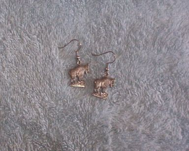 Mountain Goat Earrings